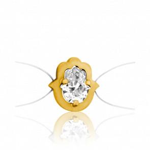 Bracelet Sable Or Jaune 18K & Diamant