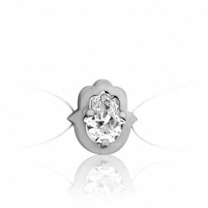 Bracelet Sable Or Blanc 18K & Diamant