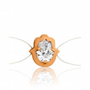 Bracelet Sable Or Rose 18K & Diamant