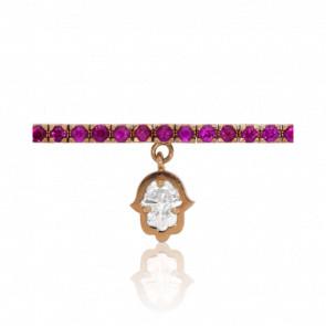 Bracelet Mojave Or Rose 18K & Diamant