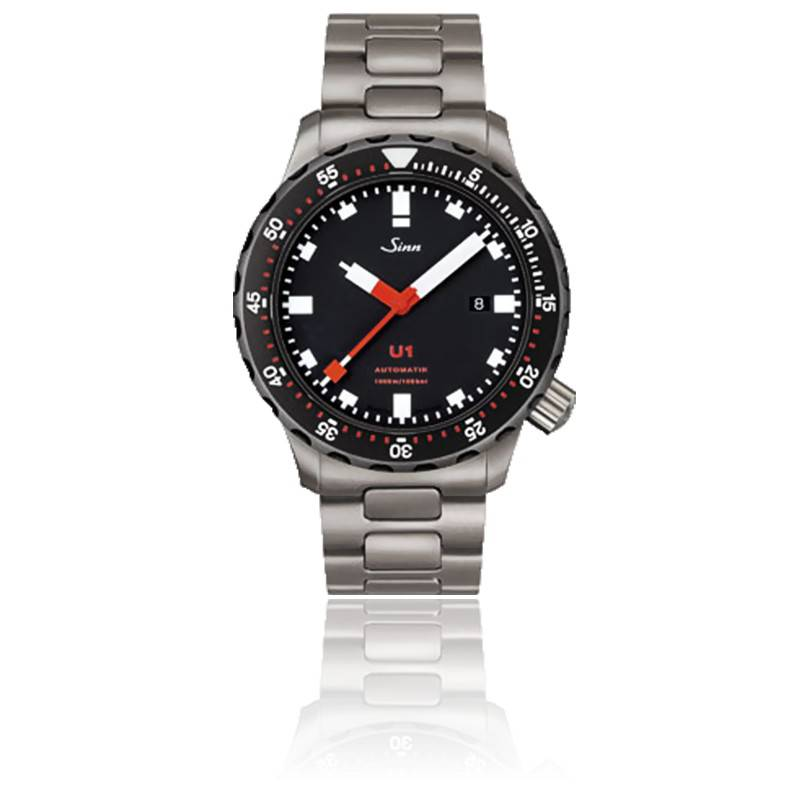 diving watch u1 sdr full tegiment sinn ocarat. Black Bedroom Furniture Sets. Home Design Ideas