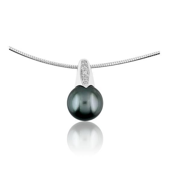 pendentif joelli perle taravao pendentif en or blanc diamants et perle de tahiti 9 30 mm ocarat. Black Bedroom Furniture Sets. Home Design Ideas