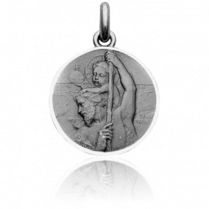 Médaille Saint Christophe Argent - Becker