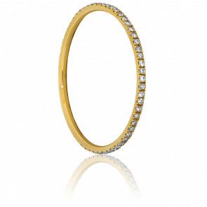 Alliance Infini Or Jaune & Diamants 0.18 ct