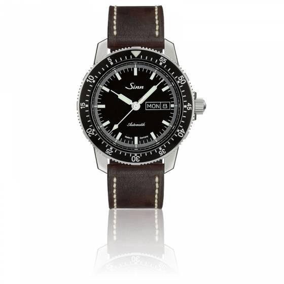 Pilot watch 104 St Sa I Cuir