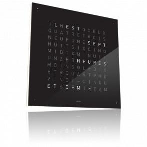 Qlocktwo Classic - Façade Noire - 45 cm - Biegert & Funk