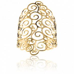 Bracelet Manchette Cléora Doré