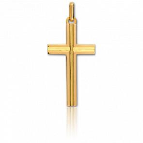 Croix Or Jaune 17 x 30 mm Or Jaune