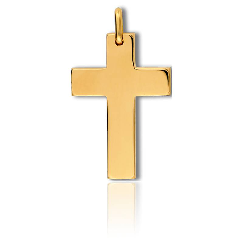 croix en or jaune 33 mm lucas lucor sur ocarat ocarat. Black Bedroom Furniture Sets. Home Design Ideas