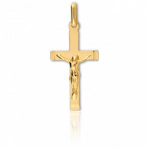Christ en Croix 12 x 23 mm Or Jaune 9K