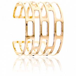Bracelet Manchette Orséis Plaqué Or Jaune