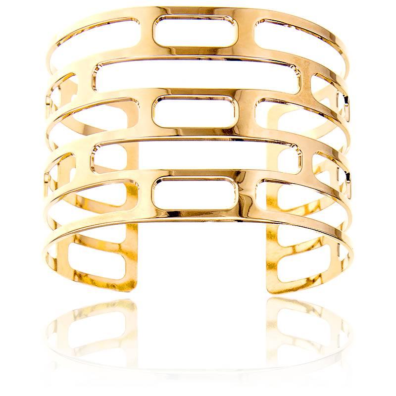 bracelet manchette ors is plaqu or na ades ocarat. Black Bedroom Furniture Sets. Home Design Ideas