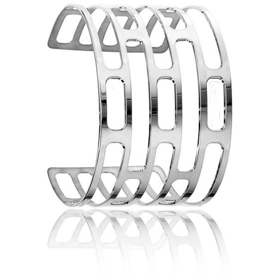 Bracelet Manchette Orséis Argent Massif