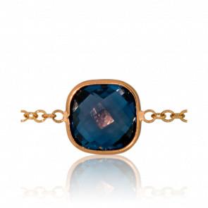 Bracelet Angela Topaze Blue London
