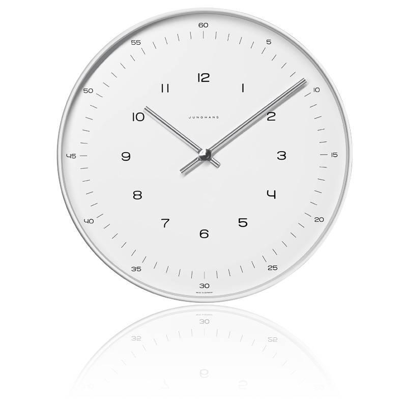 Horloge Max Bill 374/7003.00 Wanduhr 22 radio-pilotée