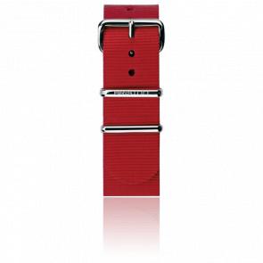 Bracelet Nato Rouge 245 mm