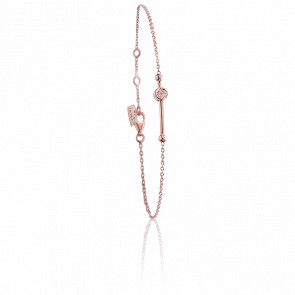 Bracelet Swing Vermeil Rose & Diamants