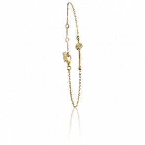 Bracelet Swing Vermeil Doré & Diamants