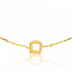 Bracelet Mini Quadrature Or Jaune