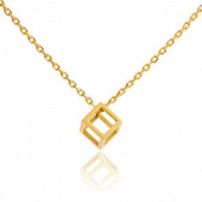 Collier Mini Quadrature Or Jaune - Pascal Morabito
