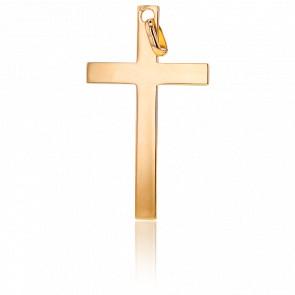 Pendentif Croix Doré