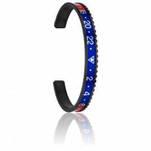 Bracelet Black Red & Blue