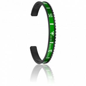 Bracelet Black Green