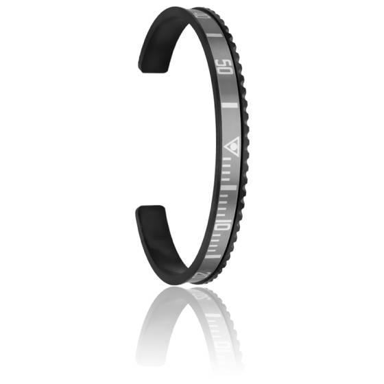 Bracelet Black Silver