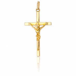 Christ en Croix Fine Or Jaune 18K