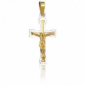 Christ en Croix  Or Jaune 9K