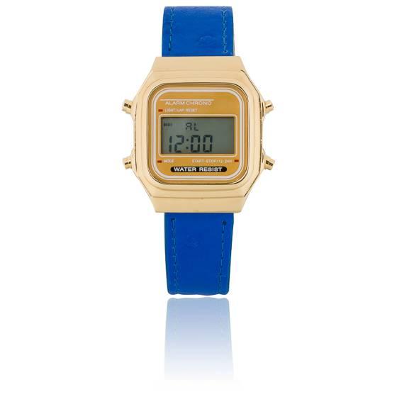 Gold Blue Vintage