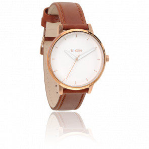 The Kensington Leather Rose Gold - A108-1045
