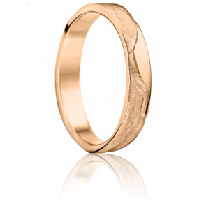 Alliance Aphrodite 4,50 mm Or Rose 18K