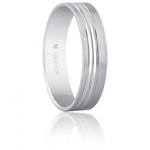 Photo bague mariage homme