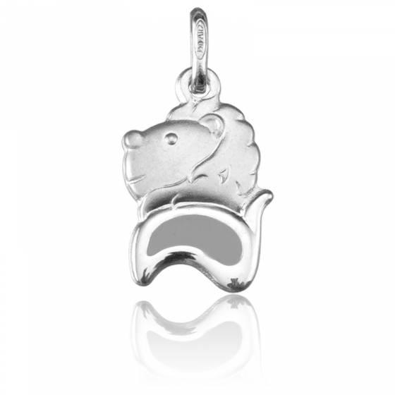 pendentif zodiaque lion