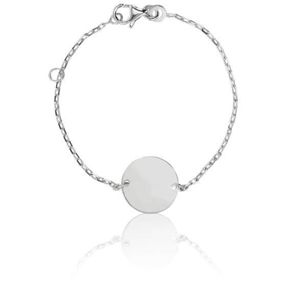 gravure photo bracelet argent