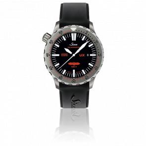 Diving Watch UX GSG 9 Bracelet  Silicone noir