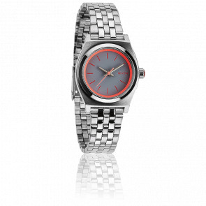 The Small Time Teller Silver / Neon Pink - A399 1764