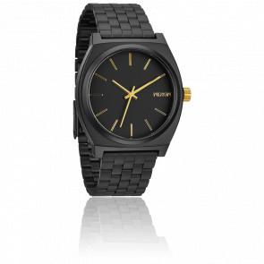 The Time Teller Matt Black / Gold - A045 1041