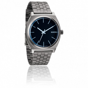 The Time Teller Gunmetal /Blue Crystal - A045 1427