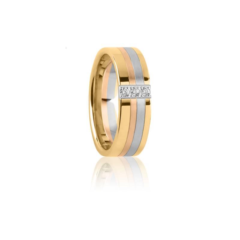 Alliance Protée 3 Ors et Diamants