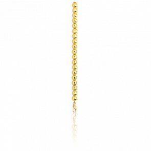 Chaîne Boule Classique, Or Jaune 18K, longueur 50 cm