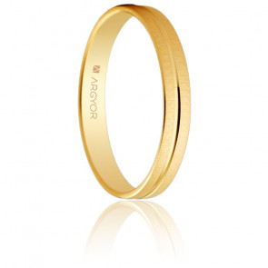 Alliance Almorox 3 mm Or Jaune 18K