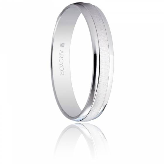 Alliance Escalona 3,50 mm Or Blanc 18K