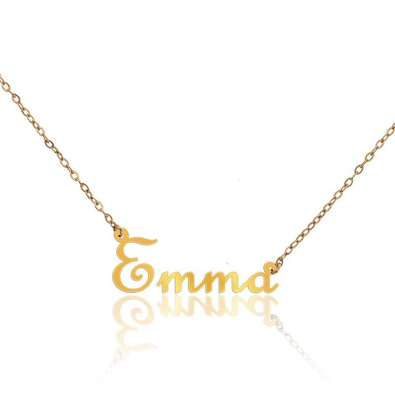 collier prenom emma