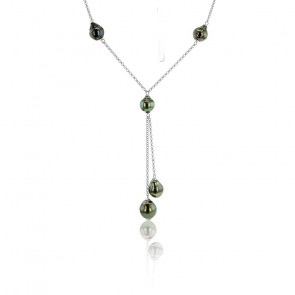 Collier Floriano Perles & Argent