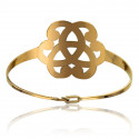 Bracelet Arabesque Plaqué Or Jaune