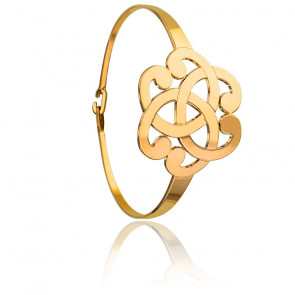 Bracelet Arabesque Plaqué Or Jaune