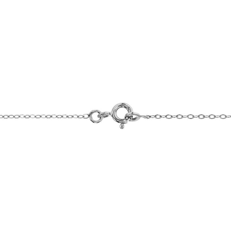 collier prnom mathis or blanc 18k