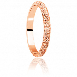 Alliance Diamanteka 3,50 mm Or Rose 18K